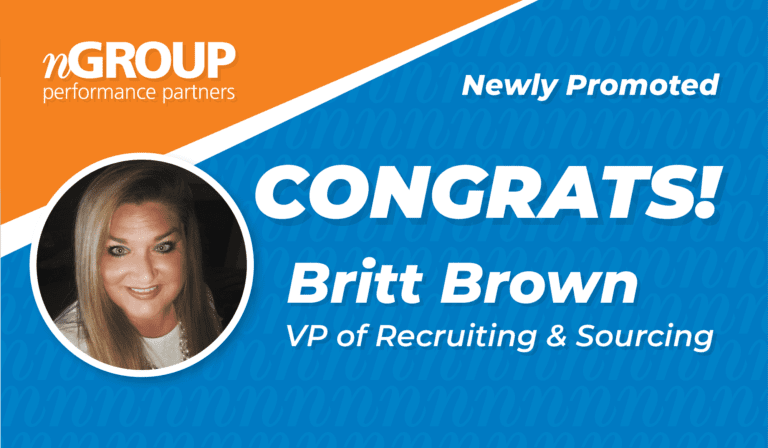 Newly Promoted: Britt Brown Promoted to VP of Recruiting & Sourcing for nGROUP