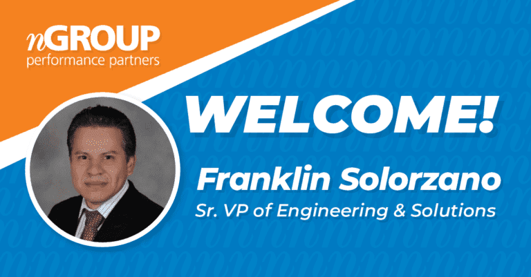 nGROUP Welcomes Back Franklin Solorzano, Senior VP of Engineering & Solutions