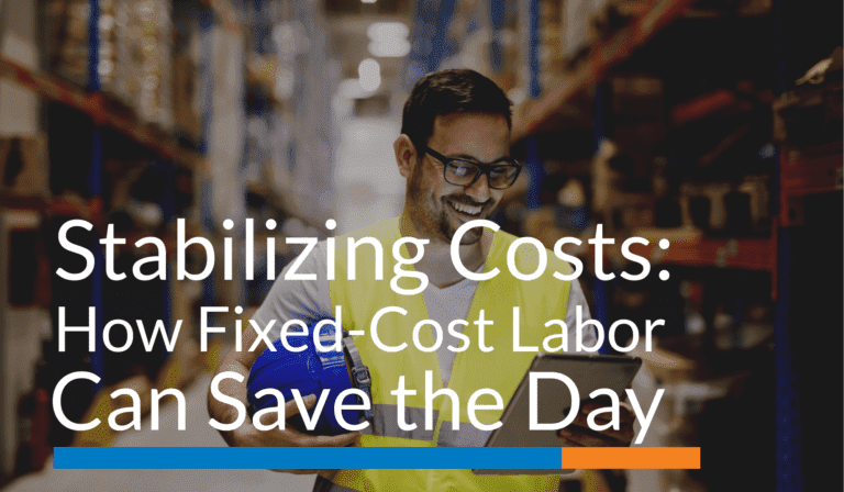 Stabilizing Costs:How Fixed-Cost Labor Pricing Can Save the Day