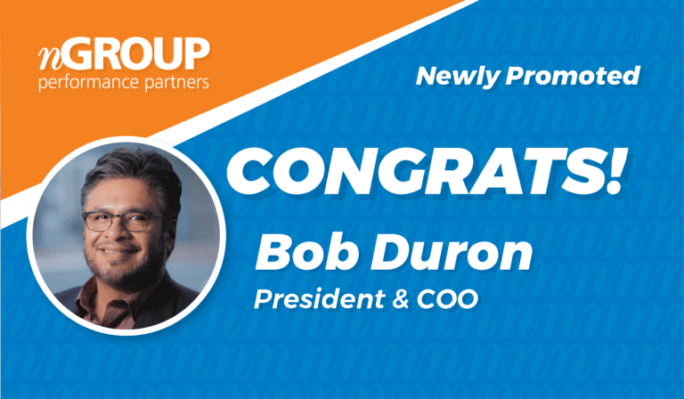 nGROUP's Chief Operating Officer, Bob Duron, Promoted to President & COO