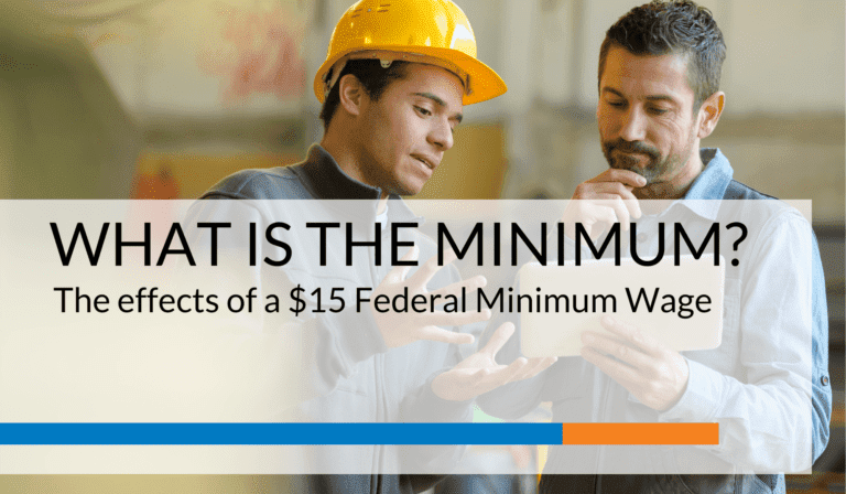 What is the Minimum?The Effects of a $15 Federal Minimum Wage