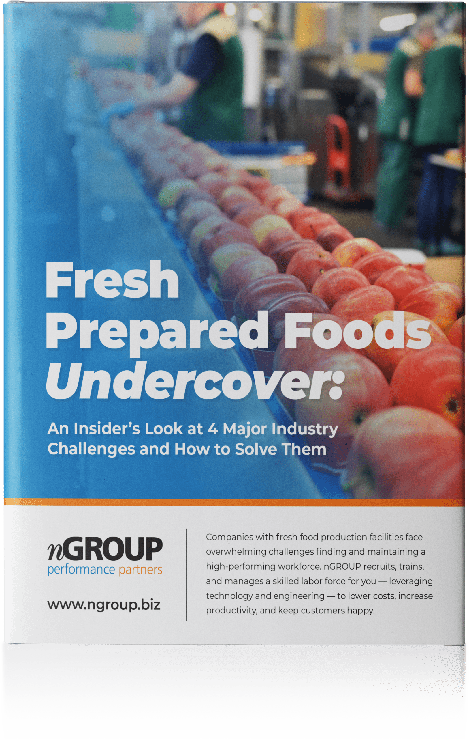 Fresh cover image for the Prepared Foods Undercover whitepaper