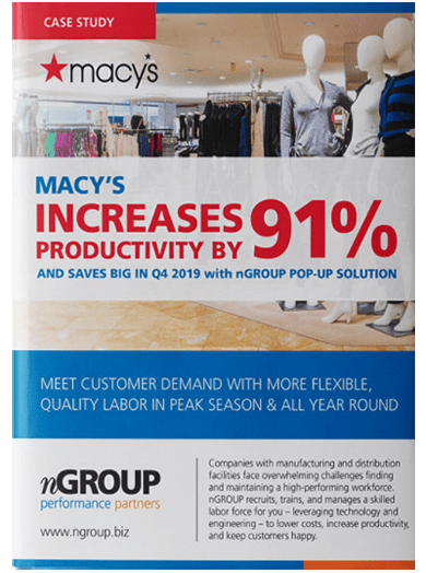 Macy's productivity increase Case Study.